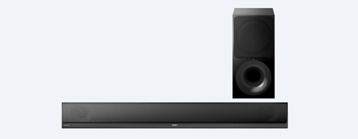 HTCT790 Sony 2.1 Channel Soundbar with Wi-Fi and Bluetooth - Black