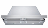 """HUI50351UC 30"""" Bosch Pull-Out Hood with 300 CFM Internal Blower and Halogen Lighting - Stainless Steel"""
