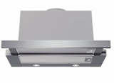 "HUI54451UC 24"" Bosch Under-Cabinet Slide-Out Range Hood with 400 CFM Internal Blower and Halogen Lights - Stainless Steel"