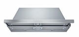 "HUI565511UC 36"" Under-Cabinet Slide-Out Range Hood with 500 CFM Internal Blower and Halogen Lights - Stainless Steel"