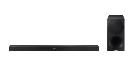 HWM450 Samsung 2.1 Channel Sound Bar Speaker with Wireless Subwoofer and Bluetooth Connectivity - Black