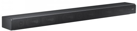 HWMS650 Samsung 3 Channel Premium Sound Bar Speaker with Wi-Fi & Bluetooth Connectivity and Distortion Cancelling - Dark Titan