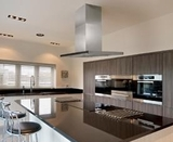 IC34E100SB Best Eclisse Island 39-3/8 x 27-5/8 Stainless Steel Island Range Hood with a choice External or In-line blowers