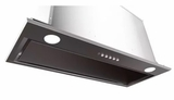 """INLX28SS600B Faber 28"""" Inca Lux Insert Range Hood with Backlit Electronic Controls and 600 CFM - Stainless Steel"""