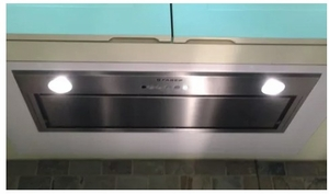"INLX28SS600B Faber 28"" Inca Lux Insert Range Hood with Backlit Electronic Controls and 600 CFM - Stainless Steel"