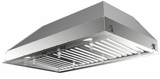 """INPL3019SSNBB Faber 30"""" Inca Pro Plus Insert Range Hood with Baffle Grease Filters and Pro Motor - Stainless Steel"""