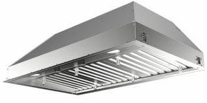 "INPL3019SSNBB Faber 30"" Inca Pro Plus Insert Range Hood with Baffle Grease Filters and Pro Motor - Stainless Steel"