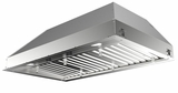 """INPL4822SSNBB Faber Built-In Collection 48"""" W X 22"""" D Inca Pro Plus Hood Insert - Stainless Steel"""
