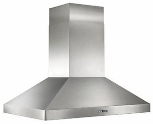 "IPP9IQT42SB Best Colonne Island 42"" x 30"" Stainless Steel Island Range Hood with iQ12 Blower System, 1200 CFM"
