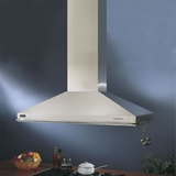 ISER222SS Best Canopy Design Island Hood with Internal Blower  48 Inch - Stainless Steel