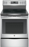 "JB700SJSS GE 30"" Free-Standing Electric Convection Range with 12""/9"" Dual Element for Flexibility - Stainess Steel"
