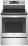"JB750SJSS GE 30"" Free-Standing Electric Convection Range with Precise Air - Stainless Steel"
