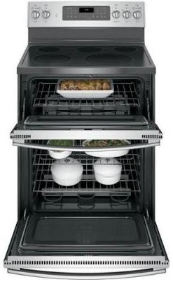 "JB860SJSS GE 30"" Free-Standing Electric Double Oven Convection Range - Stainless Steel"