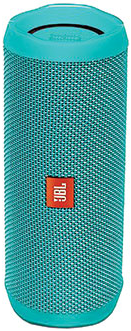 JBLFLIP4TELAM JBL Full Featured Waterproof Portable Bluetooth Speaker with Bass Radiator and 12 Hours Playtime - Teal