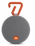 JBLCLIP2GRYAM  JBL Wireless Speaker with Mic For Speakerphone Calls and Built-In Rechargeable Battery - Gray
