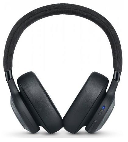 JBLE65BTNCBLK JBL Wireless Over-Ear Noise Cancelling Headphone with Bluetooth and Active Noise Canceling - Black