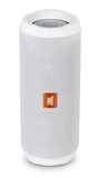 JBLFLIP4WHTAM JBL Full Featured Waterproof Portable Bluetooth Speaker with Bass Radiator and 12 Hours Playtime - White