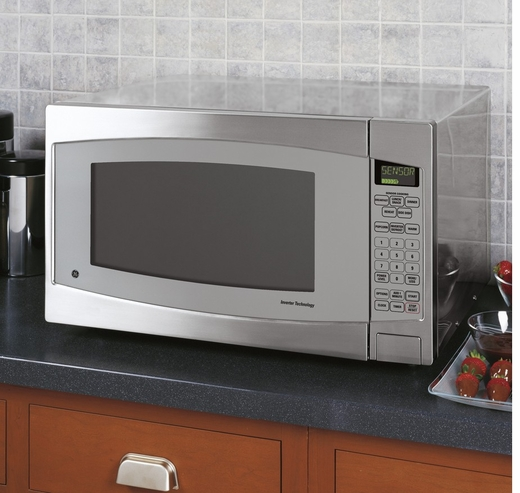JES2251SJSS GE Profile 2.2 Cu. Ft. Capacity Countertop Microwave - Stainless Steel