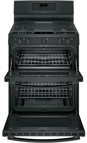 how to clean black cooktop of gas range