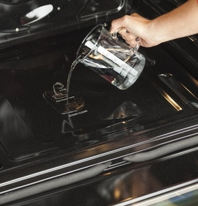 """JGS760EELSS GE 30"""" Slide-In Front Control Gas Range with Convection and Self-Clean - Slate"""