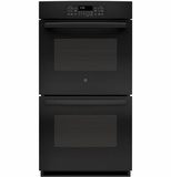 "JK3500DFBB GE 27"" Built-In Double Wall Oven - Black"