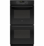 "JK5500DFBB  GE 27"" Built-In Double Convection Wall Oven - Black"