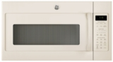 "JNM7196DKCC GE 30"" 1.9 cu. ft. Over-the-Range Microwave with 1,000 Watts, 10 Power Levels and Melt Feature - Bisque"