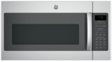 "JNM7196SKSS GE 30"" 1.9 cu. ft. Over-the-Range Microwave with 1,000 Watts, 10 Power Levels and Melt Feature - Stainless Steel"