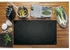 """JP5036DJBB GE 36"""" Built-In Touch Control Electric Cooktop with 5 Radiant Elements - Black"""