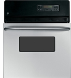 """JRP20SKSS GE 24"""" Electric Single Self-Cleaning Wall Oven - Stainless Steel"""