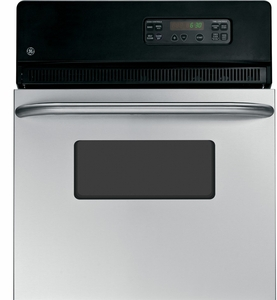 "JRP20SKSS GE 24"" Electric Single Self-Cleaning Wall Oven - Stainless Steel"