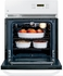 "JRP20WJWW GE 24"" Single Wall Oven - White"
