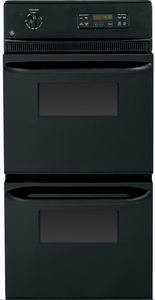 """JRP28BJBB GE 24"""" Built-in Double Wall Oven - Black"""