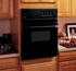 "JRS06BJBB GE 24"" Electric Single Standard Clean Wall Oven - Black"