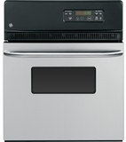 """JRS06SKSS GE 24"""" Electric Single Standard Clean Wall Oven - Stainless Steel"""