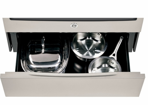 "JS750SFSS GE 30"" Slide-In Electric Convection Range - Stainless Steel"