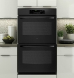 "JT3500DFBB GE 30"" Built-In Double Wall Oven - Black"