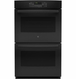 "JT5500DFBB GE 30"" Built-In Double Convection Wall Oven - Black"