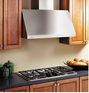 "JV936DSS GE Profile 30"" Designer Wall Mount Hood - Stainless Steel"