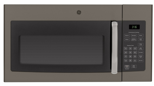 JVM3160EFES GE 1.6 cu. ft. Over-the-Range Microwave Oven - Slate