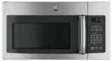 "JVM3162RJSS GE 30"" 1.6 cu. ft. Over the Range Microwave with Convenience Cooking Controls and Two-Speed 300 CFM Venting System - Stainless Steel"