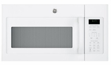"JVM6172DKWW 30"" GE 1.7 Cu. Ft. Over-the-Range Microwave Oven with 300 CFM and 2-Level Halogen Lights - White"