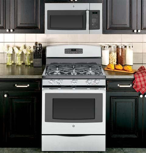Jvm6172sfss ge 1 7 cu ft over the range electric for Kitchen 0 finance deals