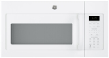 "JVM6175DKWW GE 30"" 1.7 cu. ft. Over-the-Range Microwave with 1,000 Watts, 300 CFM Ventilation and 10 Power Levels - White"