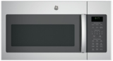 "JVM6175SKSS GE 30"" 1.7 cu. ft. Over-the-Range Microwave with 1,000 Watts, 300 CFM Ventilation and 10 Power Levels - Stainless Steel"