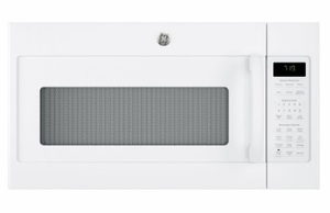 "JVM7195DKWW GE 30"" Series Over-The-Range Sensor Microwave with 1.9 Cu. Ft. Capacity and Melt Feature - White"