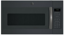 Convection Over The Range Sensor Microwave Oven With Easy Clean And 400 Cfm Black Slate