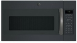 "JVM7195FLDS GE 30"" 1.9 cu. ft. Convection Over-the-Range Sensor Microwave Oven with Easy Clean and 400 CFM - Black Slate"