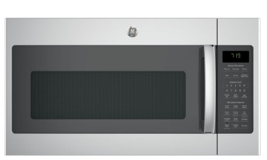 """JVM7195SKSS GE 30"""" Series Over-The-Range Sensor Microwave with 1.9 Cu. Ft. Capacity and Melt Feature - Stainless Steel"""