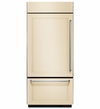 "KBBL306EPA KitchenAid 20.9 Cu. Ft. 36"" Width Built-In  Bottom-Mount Refrigerator (Left Hinge) - Custom Panel"